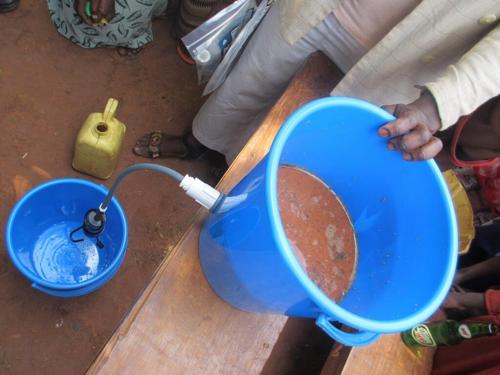 Water Filter Dirty Water to Clean Water