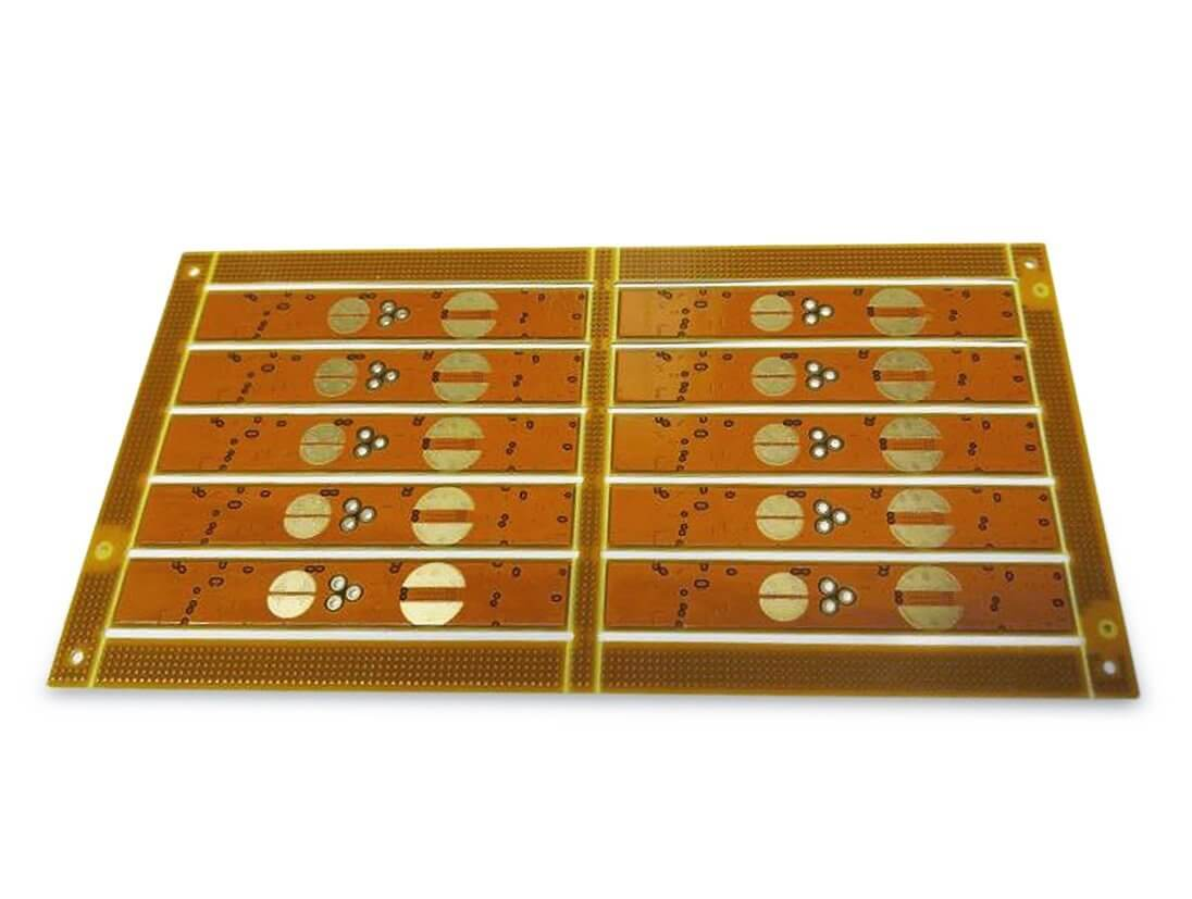finished product for thermal interface with polyimide – bottom side