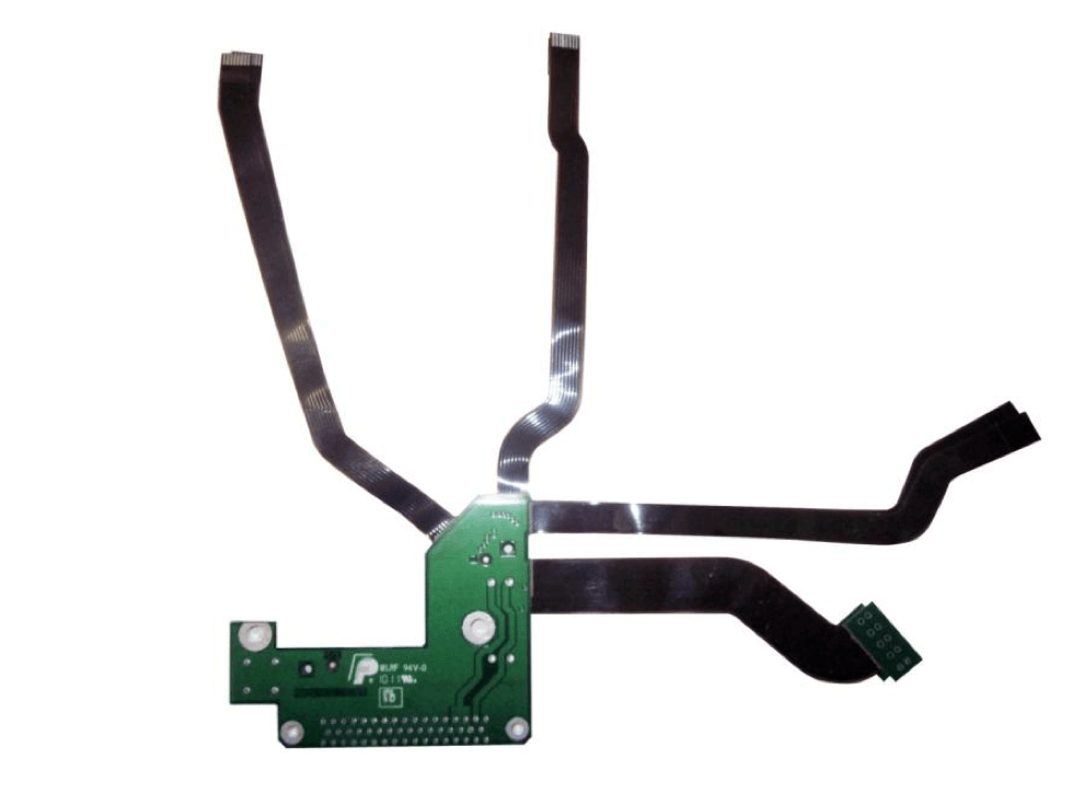Industrial rigid-flex circuit board